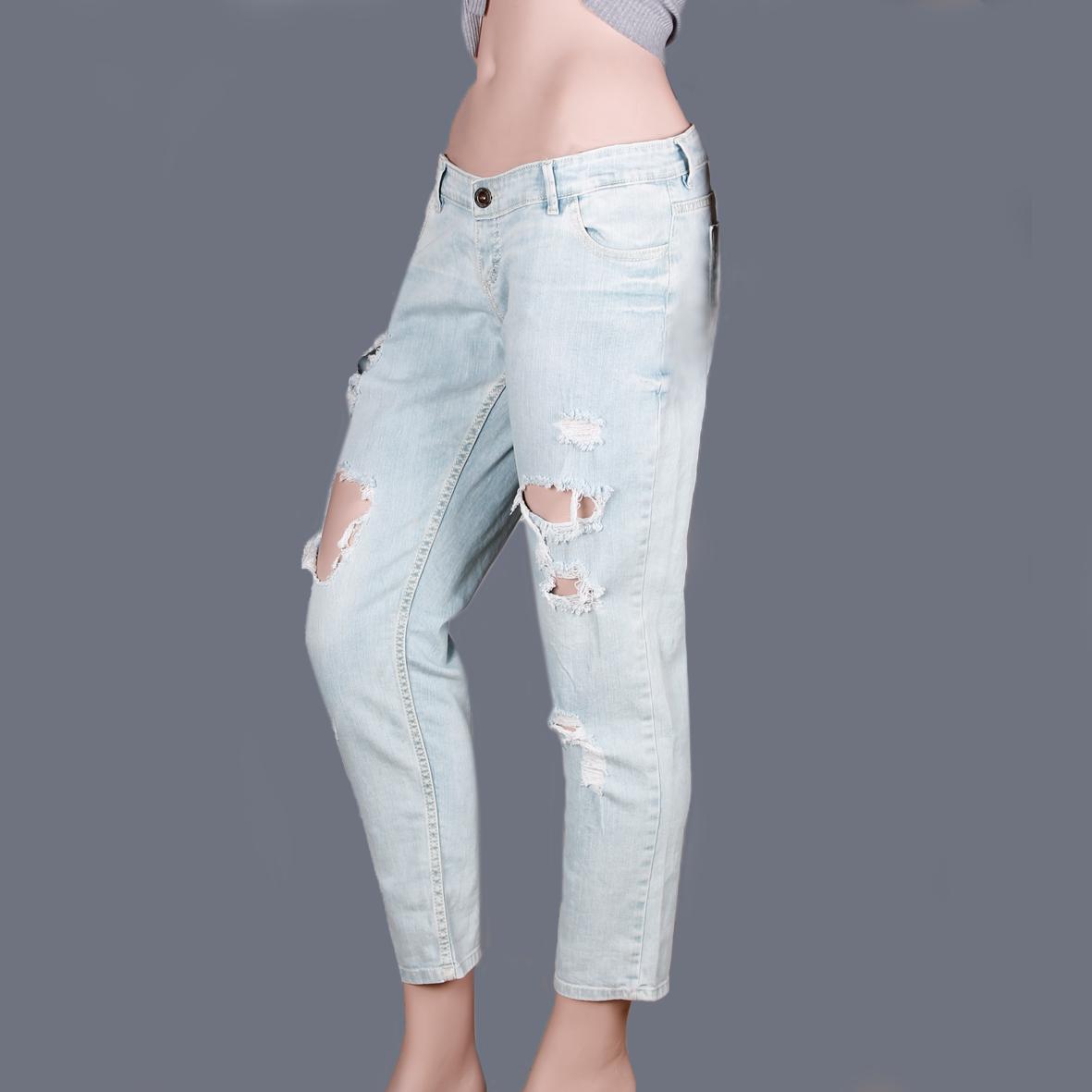 شلوار جین زاپ دار Dsquared